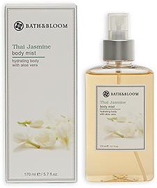 Bath & Bloom Thai Jasmine Body Mist  泰國茉莉美體淡香水身體噴霧  170ml