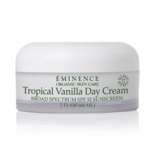 Eminence Tropical Vanilla Day Cream SPF32 熱帶香草防曬日霜 60ml 適合敏感性、曬傷、過敏及成熟皮膚