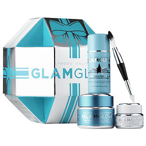 Glamglow Gift Set Thirsty – Dazzling Hydration Set Thirstymud Supermud  發光面膜 藍罐水潤保濕超值套裝  95g