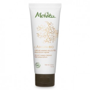 Melvita L'Argan Bio Organic Velvet Hand Cream 有機摩洛哥堅果絲滑護手霜 75ml