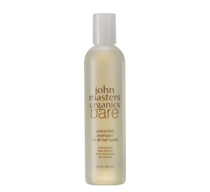 John Masters Organics Bare Unscented Shampoo 純淨洗髮乳 236ml 所有髮質及幼兒適用