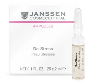 Janssen Cosmetics De-Stress  柔敏舒緩安瓶 25x2ml 適合脆弱及敏感肌膚