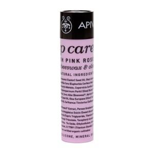 Apivita Lip Care with Pink Rose 粉紅玫瑰護唇膏 4.4g