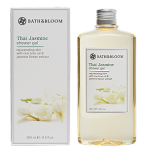 Bath & Bloom Thai Jasmine Shower Gel 曼谷的茉莉花香沐浴露 260ml