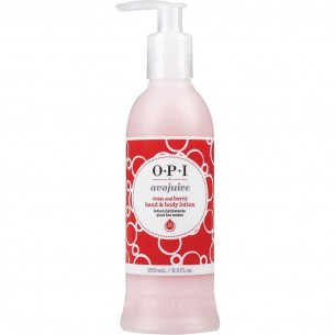 OPI Avojuice 24 Hour Hand and Body Lotion Cran & Berry 蔓越莓酸果浴乳液及護手霜 250ml