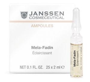 Janssen Melafadin Fluid  美白亮膚安瓶 25 x 2ml 適合偏黃、暗啞、色素沉著性肌膚