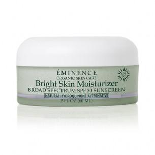 Eminence Bright Skin Moisturizer 美白防曬補濕面霜 SPF30 60ml  適合膚色不均,容易產生色素沉著的皮膚