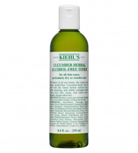 Kiehl's Cucumber Herbal Alcohol-Free Toner 青瓜植物精華爽膚水 250ml  均衡膚質