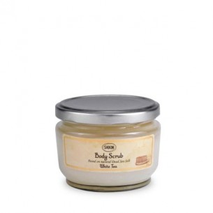 Sabon Body Scrub White Tea 白茶身體磨砂膏 600g
