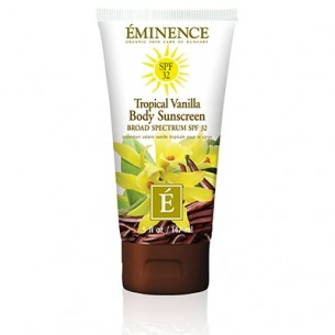 Eminence Tropical Vanilla Body Sunscreen 熱帶香草身體防曬霜 SPF32 147ml