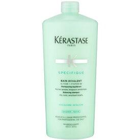 卡詩雙重功能洗髮水(油性頭皮乾性頭髮)1000ml 無矽油蓬鬆控油溫和清潔調節水油平衡滋潤保濕
