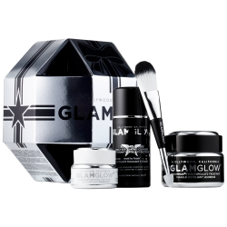 Glamglow Giftsexy Ultimate Anti-Aging Set Youthmud Supermud 發光面膜 黑罐去角質清潔超值套裝 95g