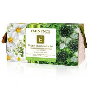 Eminence Bright Skin Starter Set 美白皮膚輕便套裝