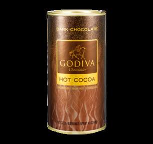 Godiva Dark Chocolate Cocoa 罐裝黑巧克力可可粉 410g