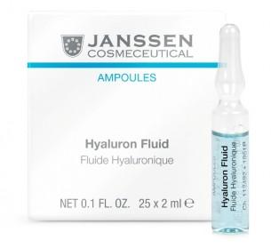 Janssen Cosmetics Hyaluron Fluid 特強透明質酸鎖水安瓶 25 x 2ml 適合嚴重缺水肌膚